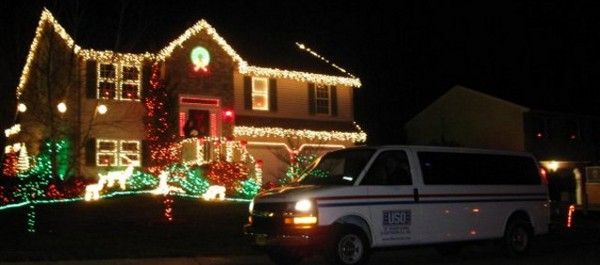 Meter Buster Christmas Display for the USO